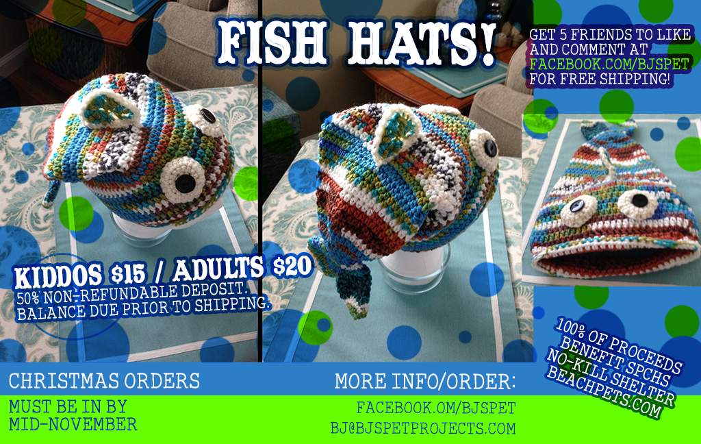 Stinky Fish Hats