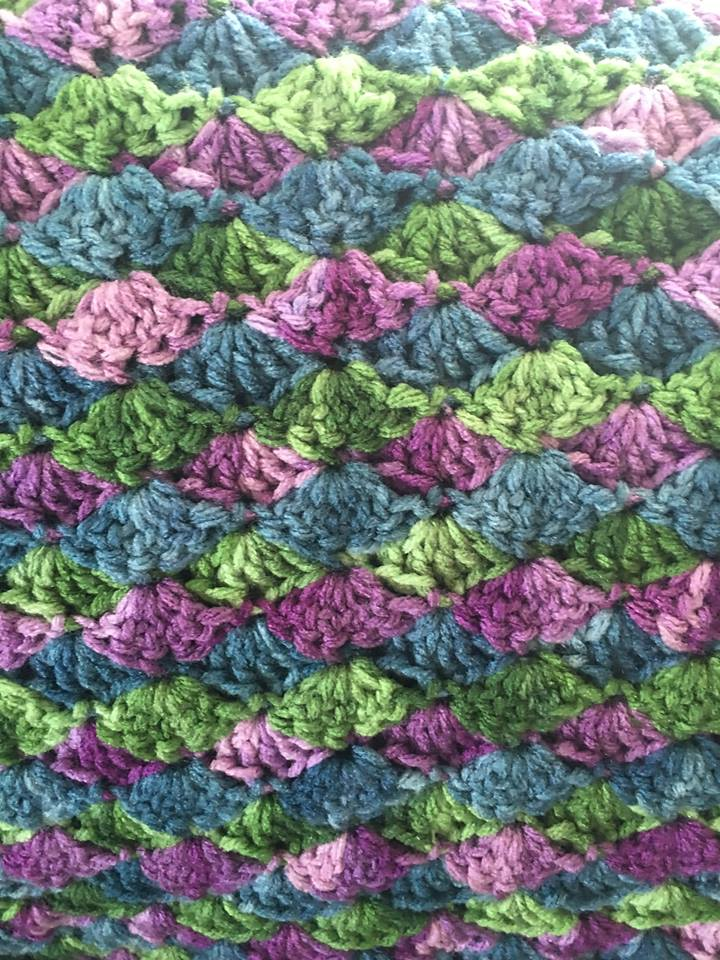 Crocheted Mermaid Blanket Bjs Pet Projects